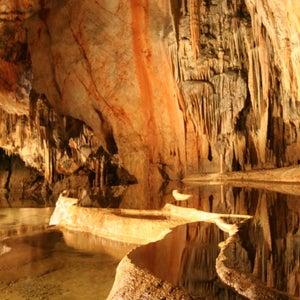 Slovenske jaskyne s krásnymi scenériami
